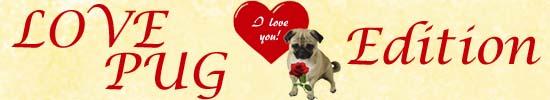 Valentinstag Mops
