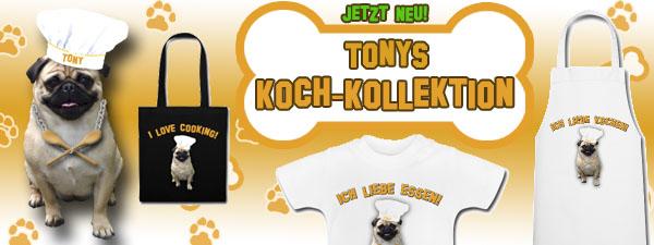 Tonys Kochkollektion